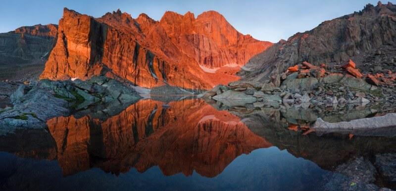 Chasm Lake - Grant Ordelheide