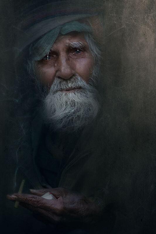 bearded old man