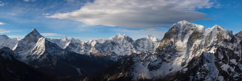 Khumbu Panorama - Grant Ordelheide