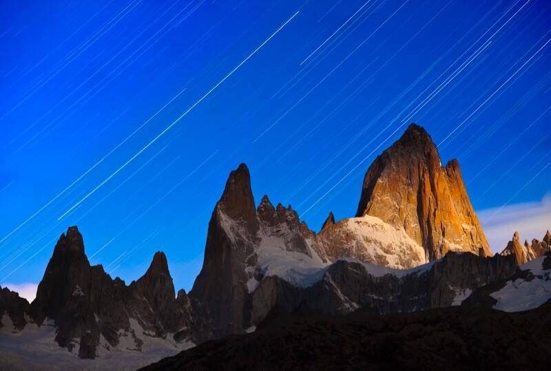 Fitzroy Star Trails - Grant Ordelheide