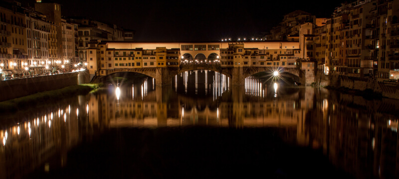 Ponte Vecchio, Florence at night