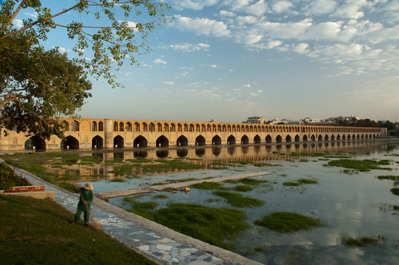 Si-o-se Pol bridge Iran