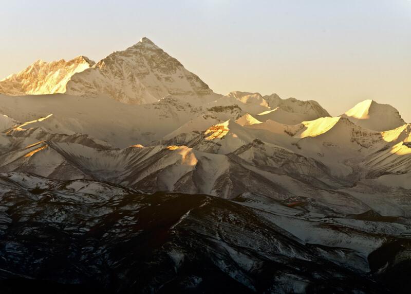 Montañas más famosas del mundo para fotografiar: el Monte Everest