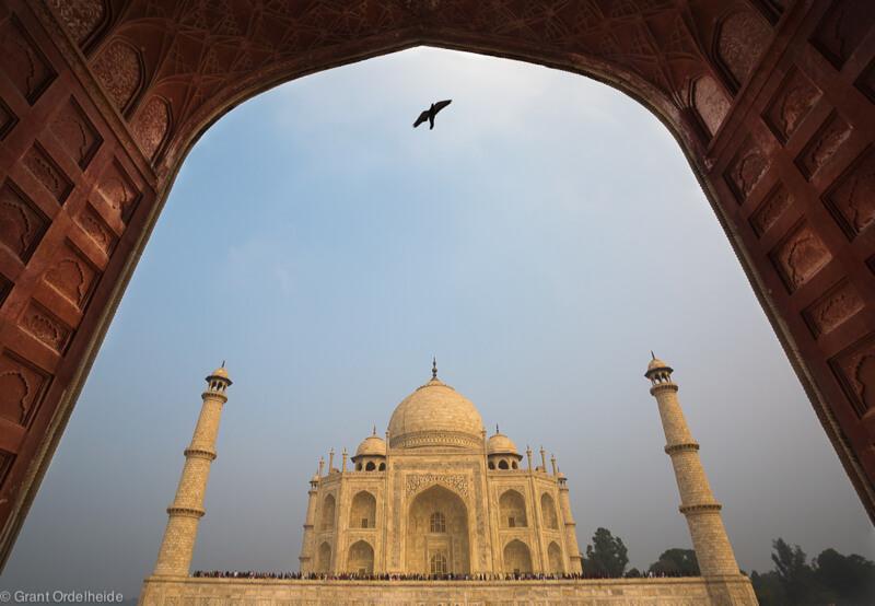Taj Mahal framing