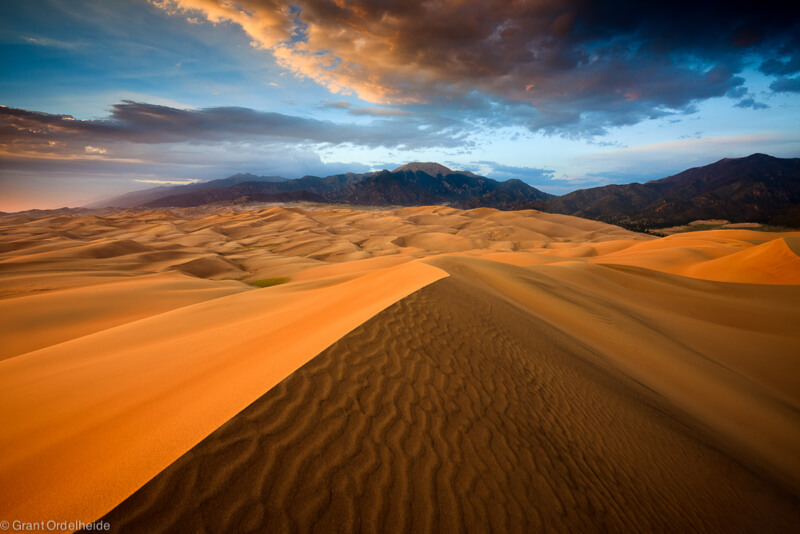 Dune Sky lines