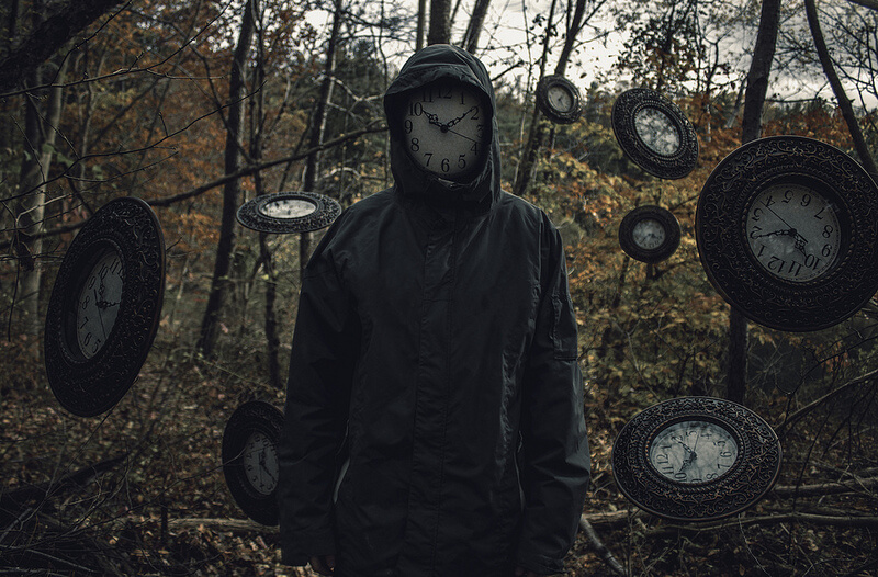 Nate Bittinger clock face