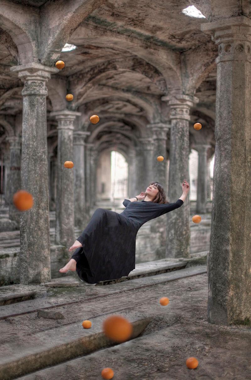 Erika Zolli Levitation project