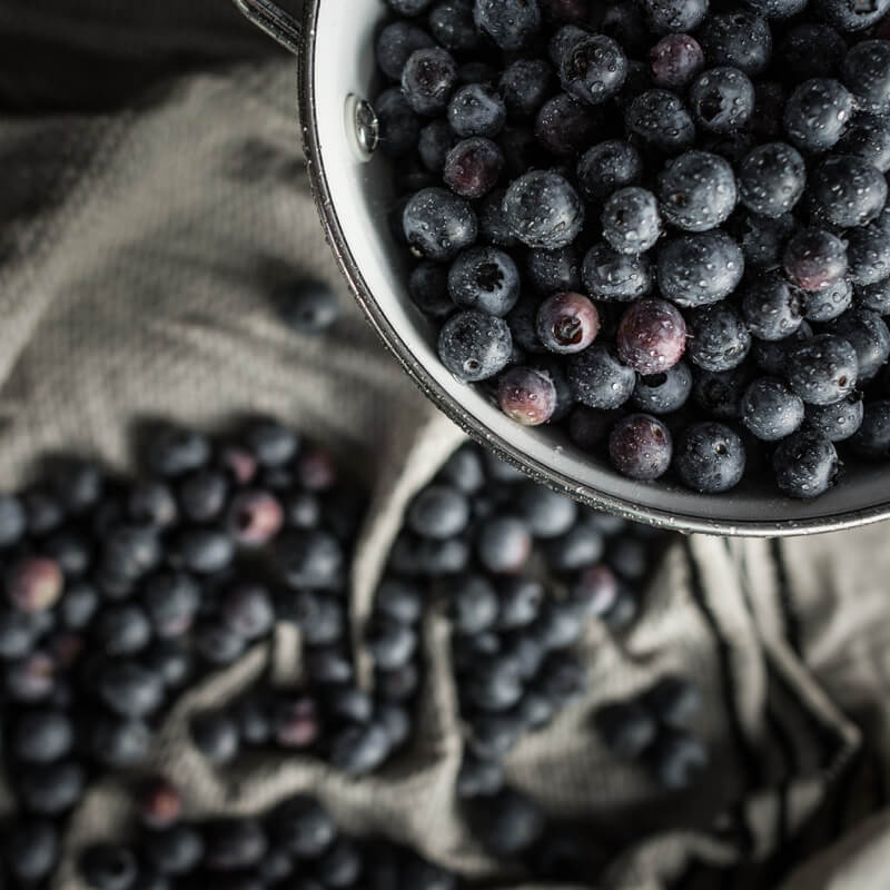 Carol Hart Top Down Blueberries