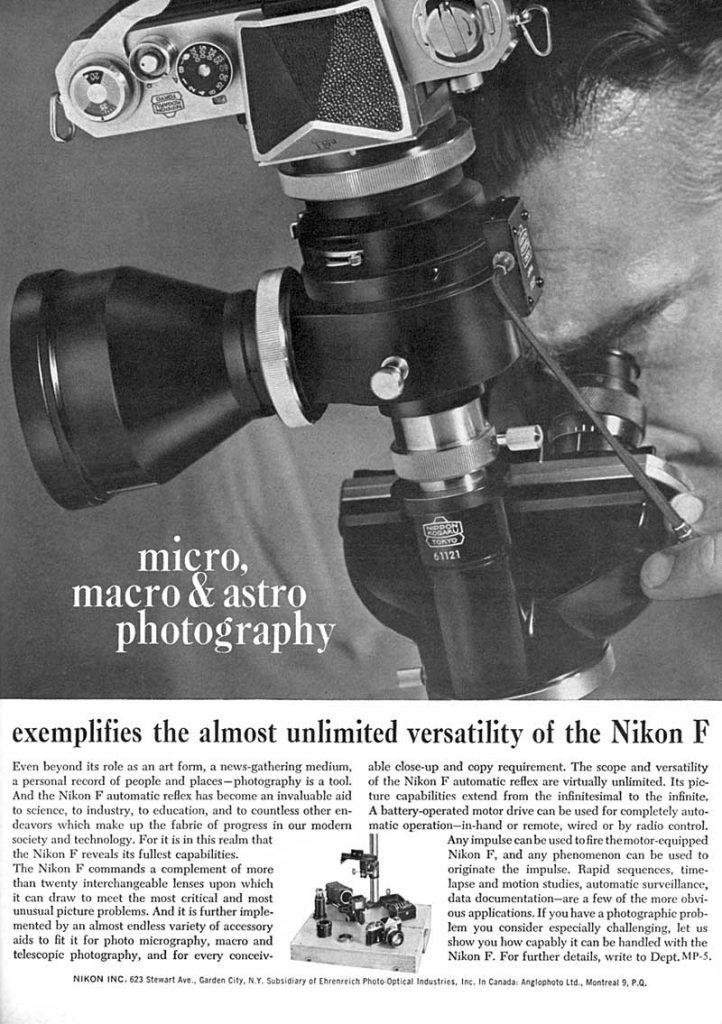 Micro Macro Astro Nikon 1965