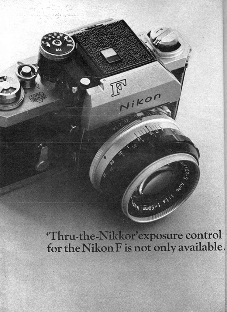Nikkor Exposure Control Ad 1965