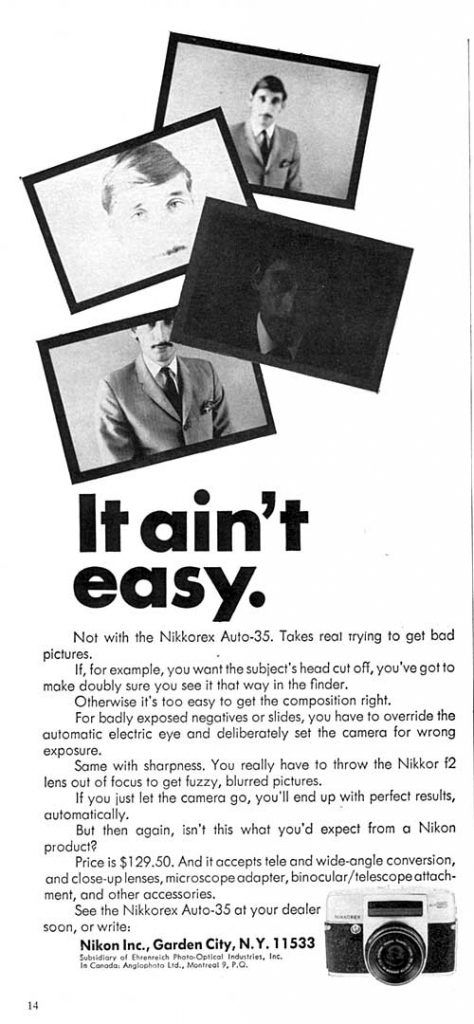 Nikkorex 1965