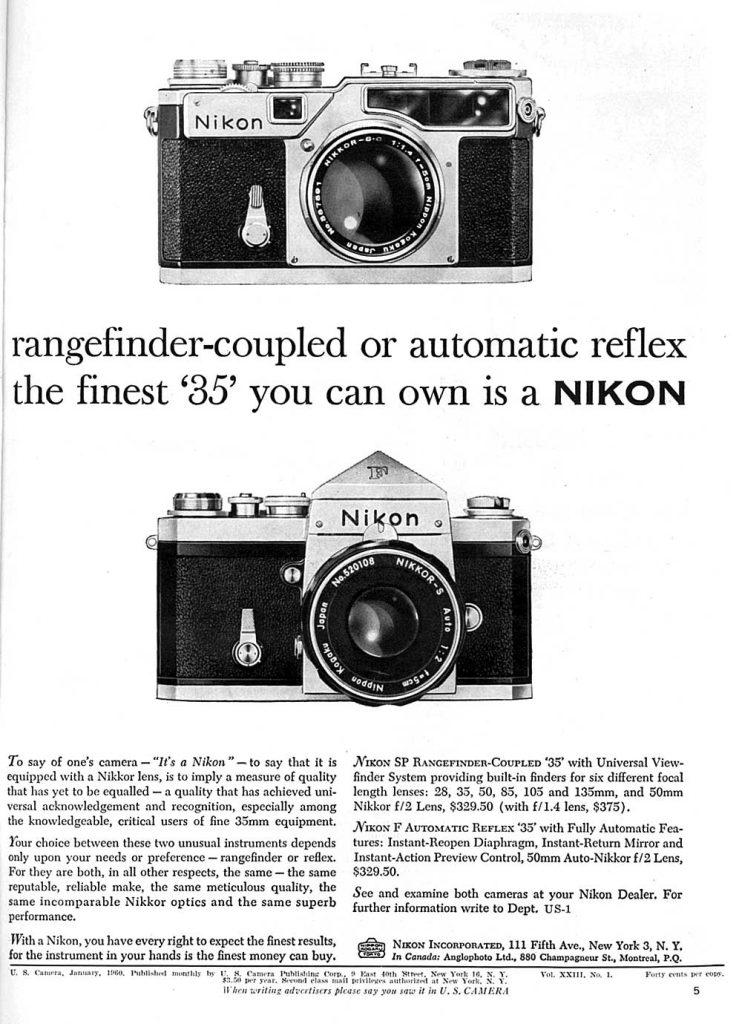 Nikon 35mm 1960