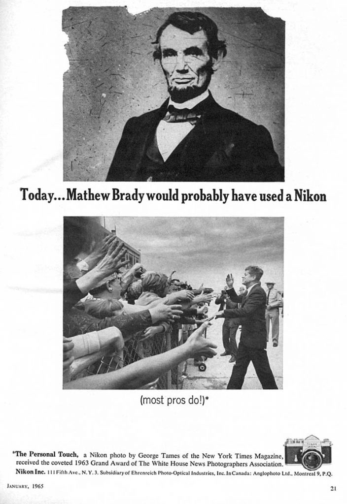 Nikon Photo Ad 1965