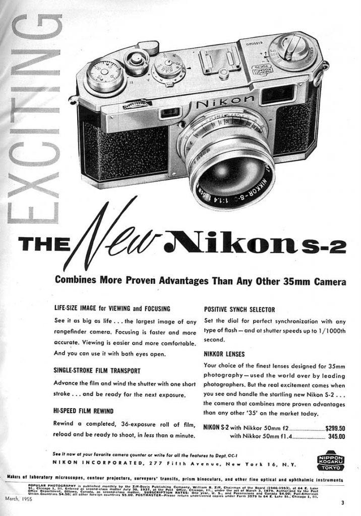 Nikon S-2 1955