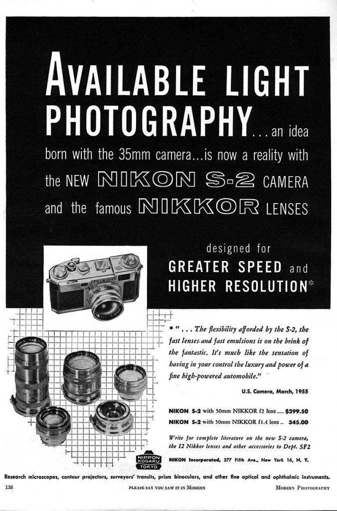 S-2 Nikon 1955