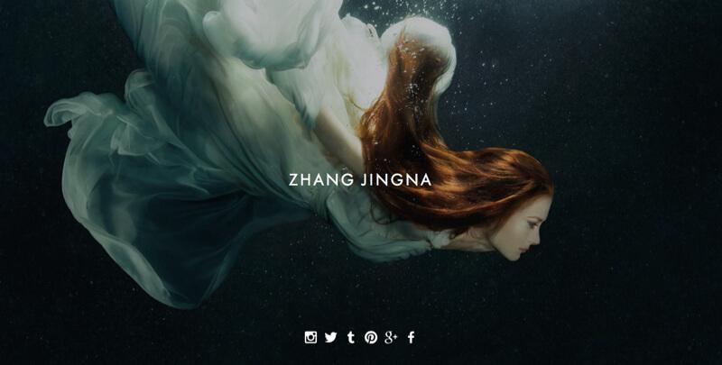 Zhang Jingna website