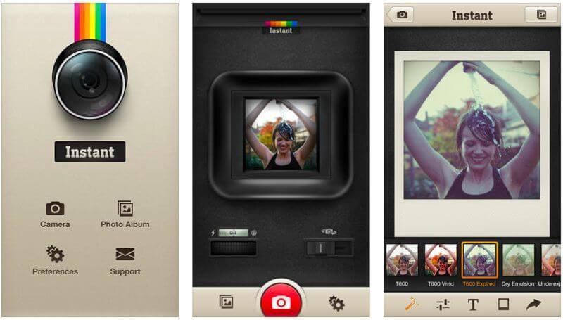 instant polaroid app