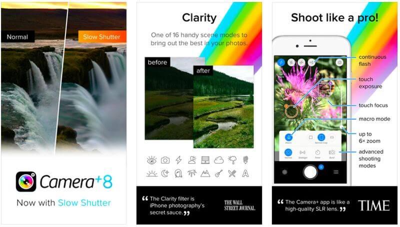 camera+ app itunes