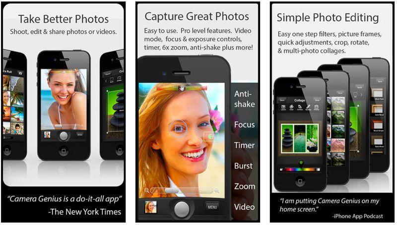 cameragenius itunes app