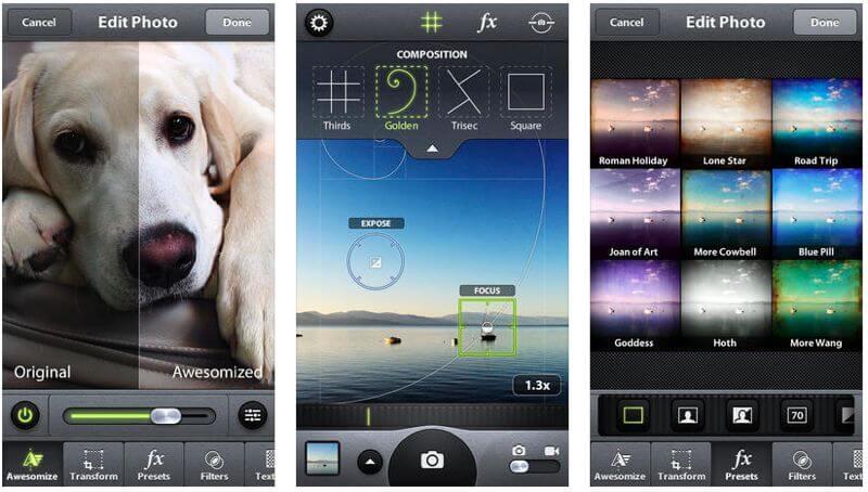 camera awesome app