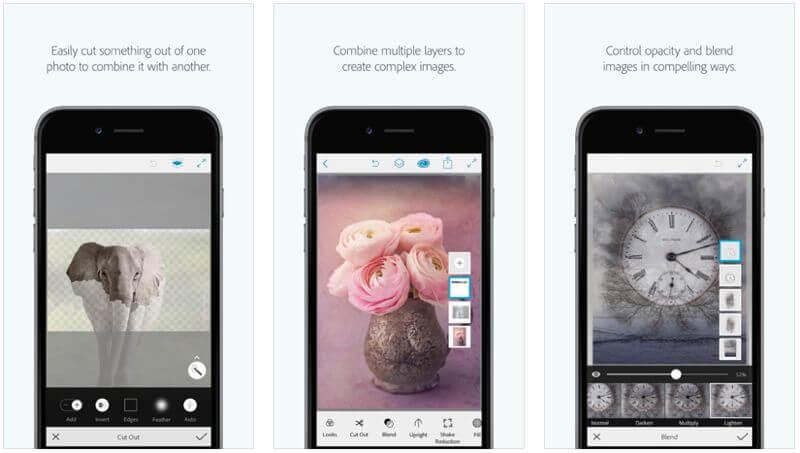 adobe photoshop mix app