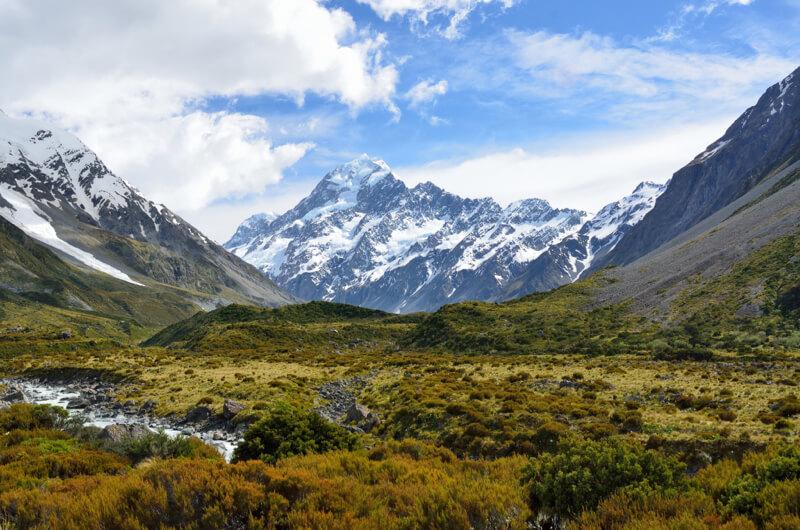 Aoraki / Mount Cook, Nueva Zelanda