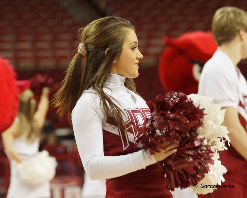 Gary Griggs — University of Arkansas Razorbacks vs University of Florida Basketball (Cheerleader)