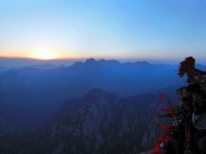 Montañas más famosas del mundo para fotografiar: Monte Hua, China
