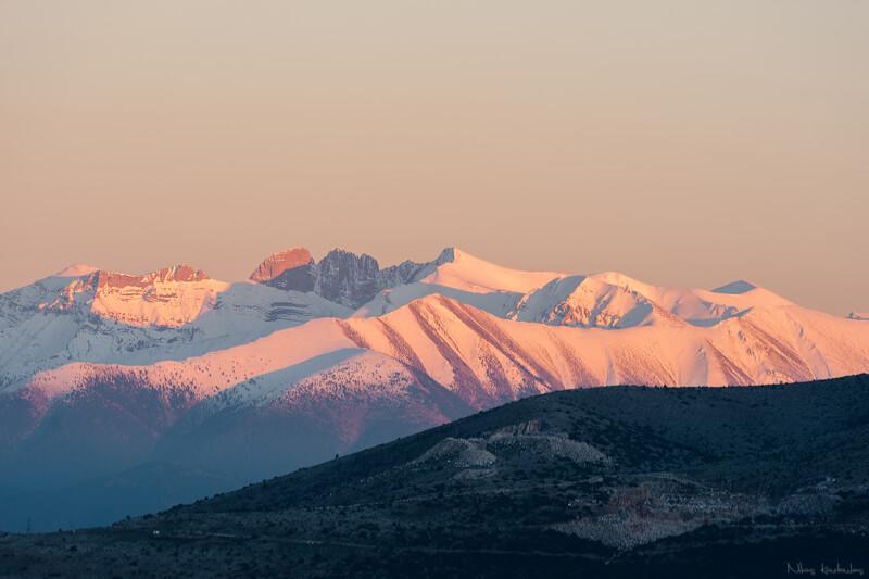 Montañas más famosas del mundo para fotografiar: Monte Olimpo, Grecia