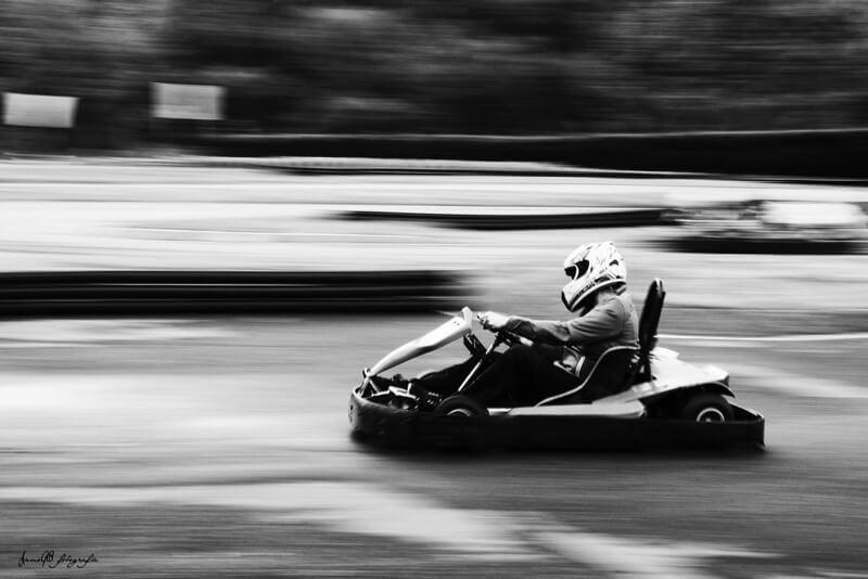outdoor go-kart racing