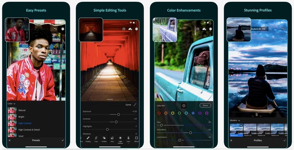 lightroom app