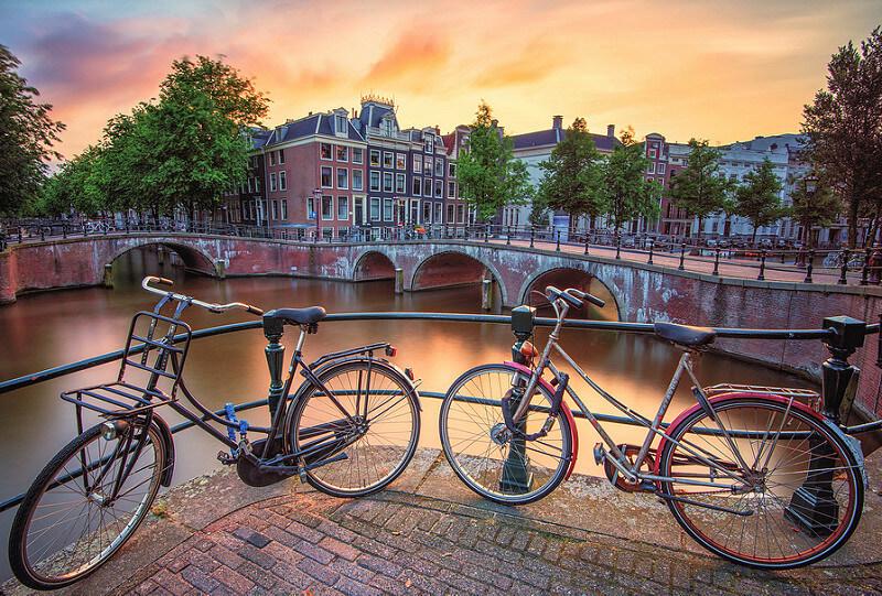Amsterdam long exposure