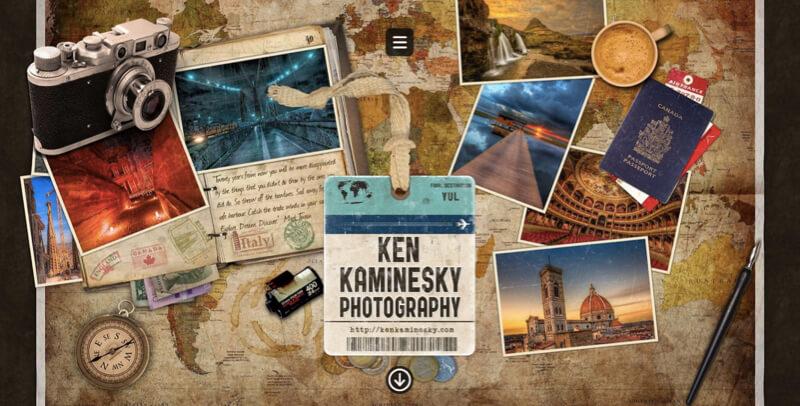 web design trends - original design - ken kaminesky