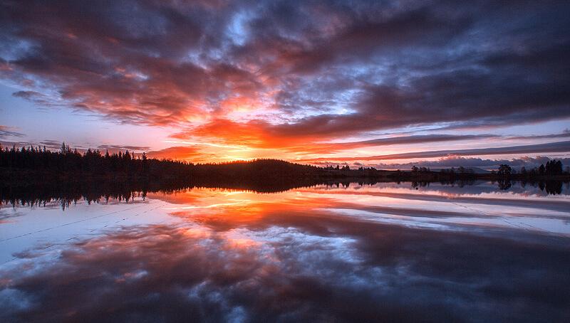 Loch Rusky at Dawn