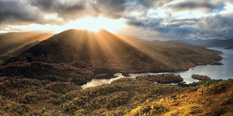 Sunfall on Goblin Mountain