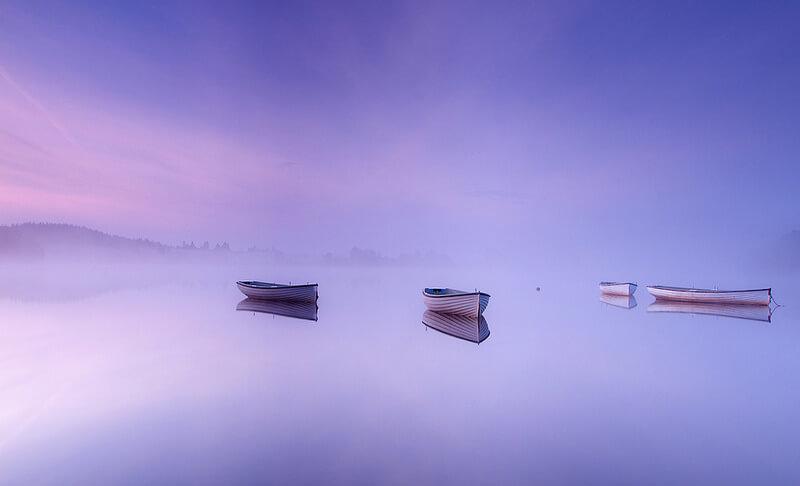 canoes loch rusky