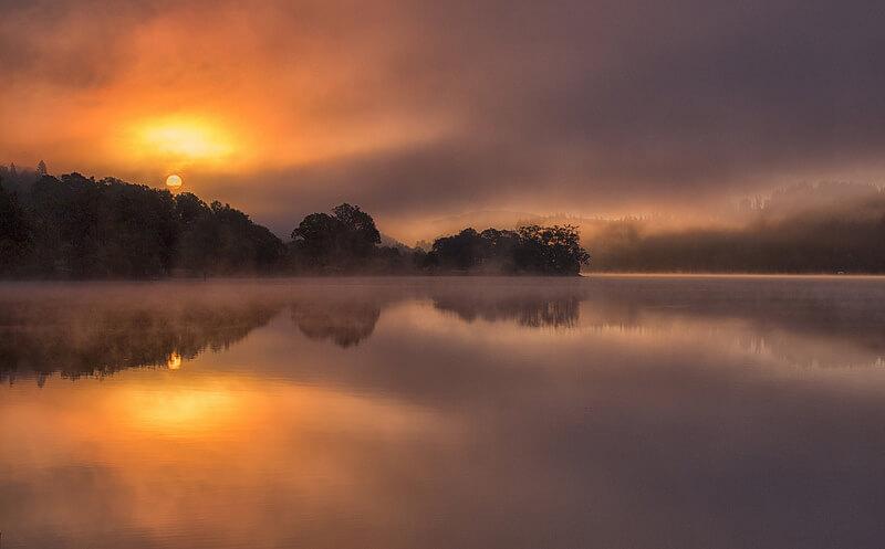Dawn on Loch Achray