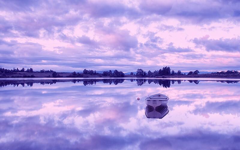 Loch Rusky, Trossachs, Scotland
