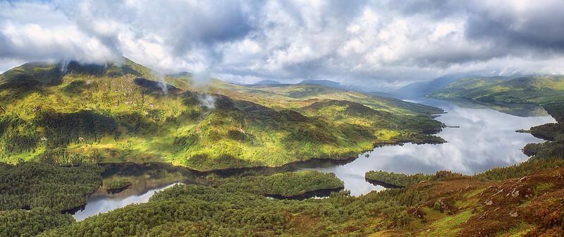 The Goblin's Mountain, Trossachs, Scotland