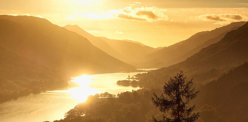Sunset on Loch Voil