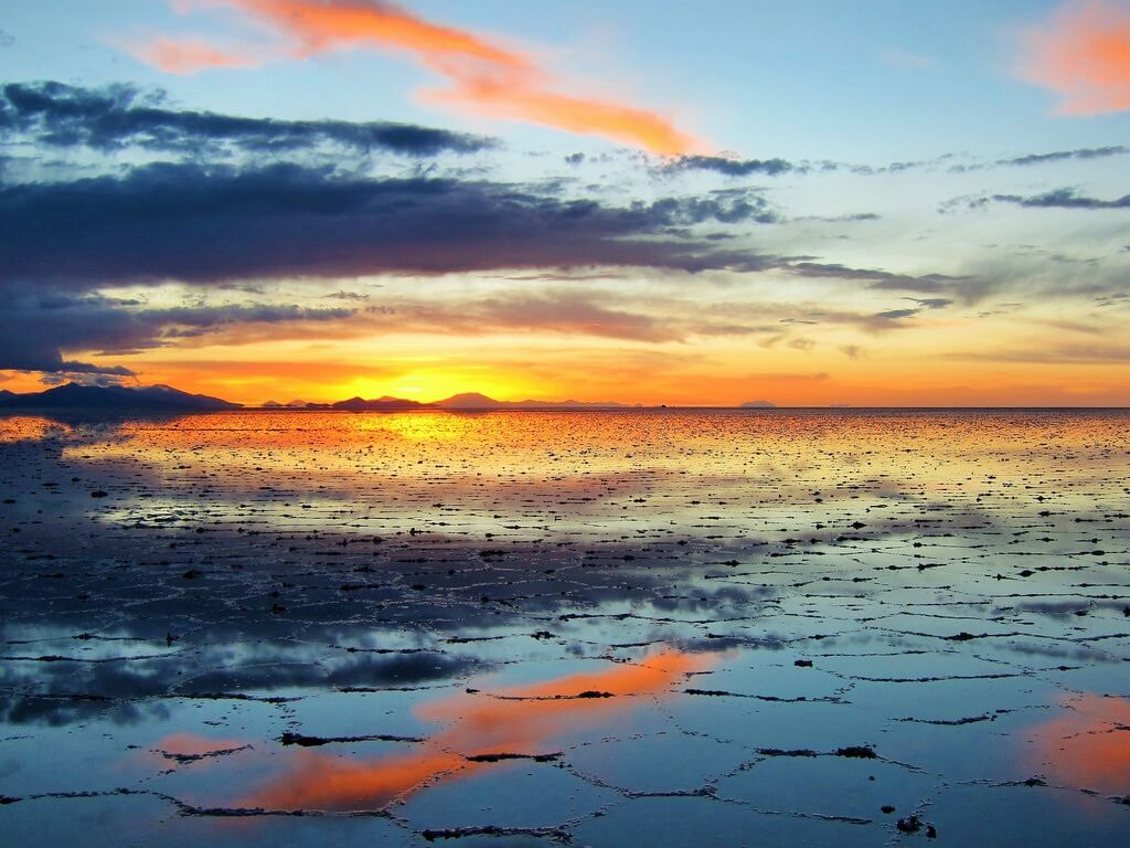 Mike - Sunset at Salar de Uyuni