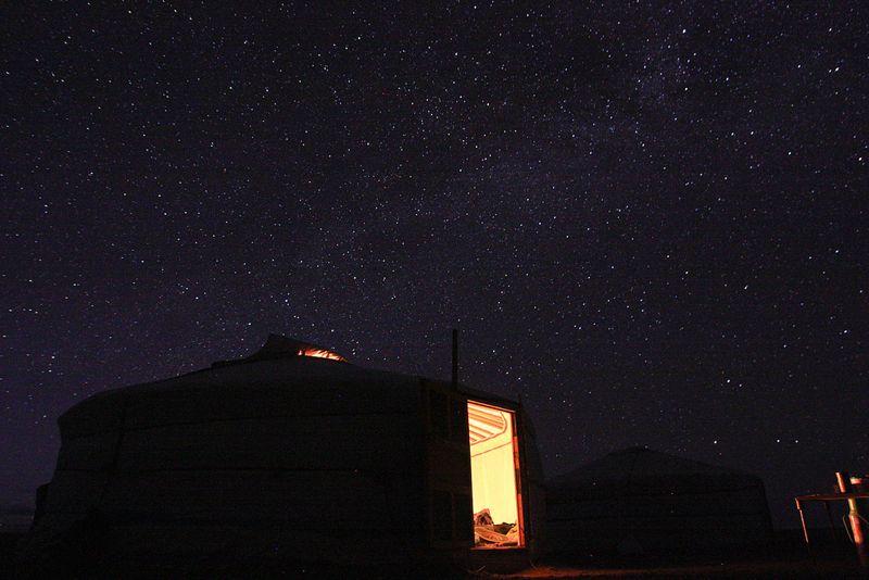 Gobi Desert stars
