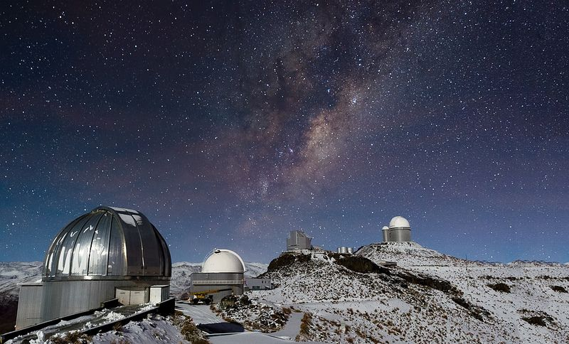 Milky Way over Snowy La Silla