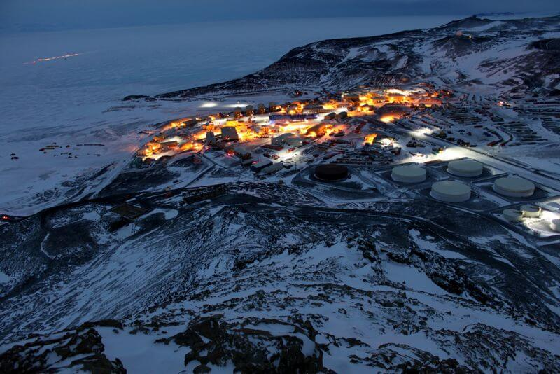 Antarctica McMurdo Station