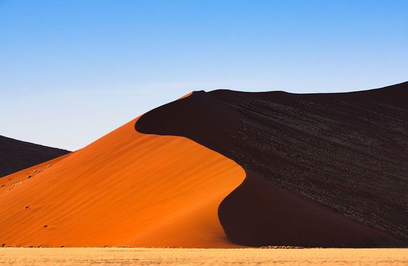 Namib Desert sand dune