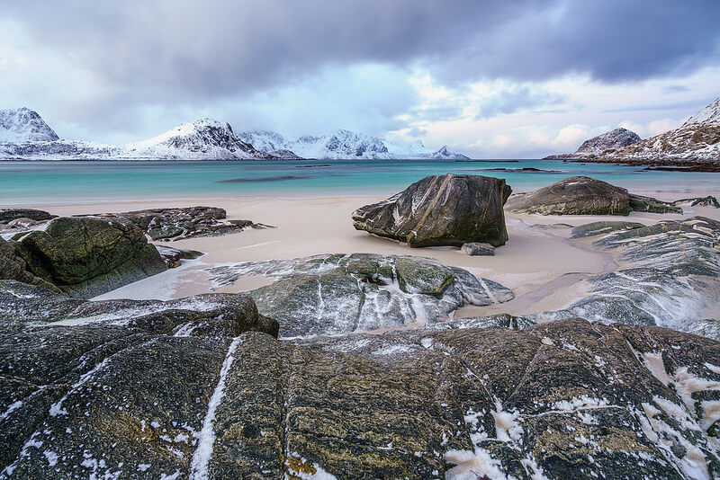 Peter Edwards - Haukland Beach Lofoten Islands