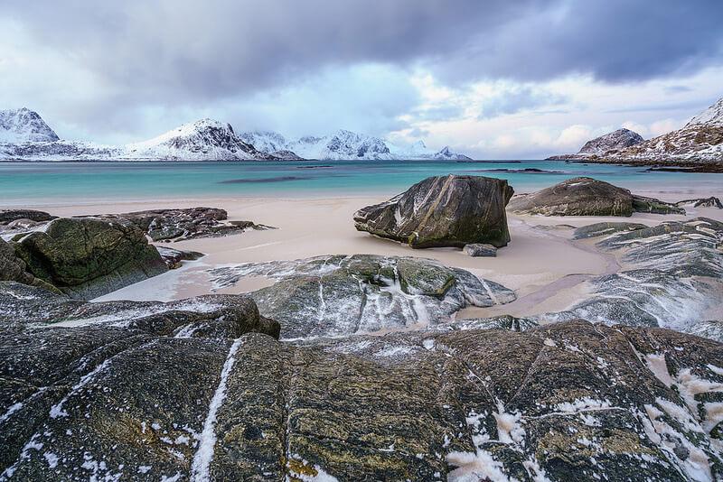 Peter Edwards - Haukland Beach Lofoten Islands