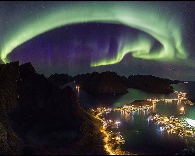 Dave Weber - The Aurora Borealis