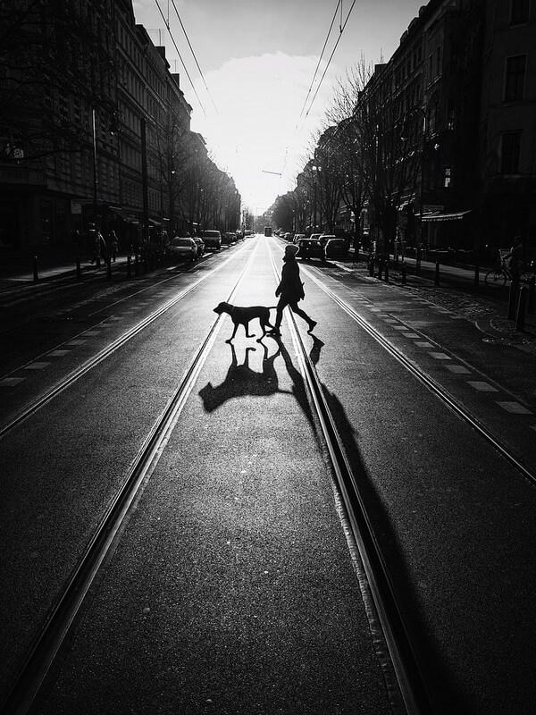 pedestrian shadow berlin