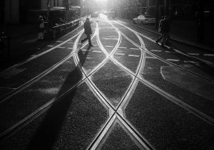 Shadows and Silhouettes: Berlin Street Photography by Joerg Nicht